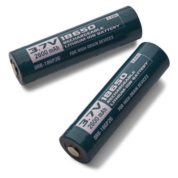 Lithium Ion Rechargeable #18650 Batteries