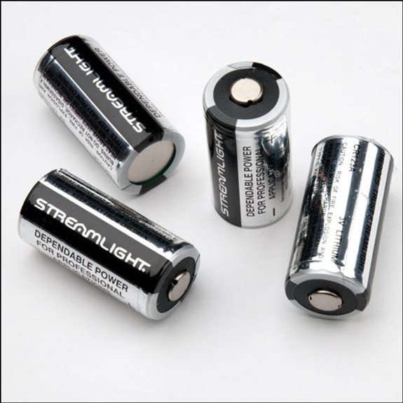 Four Pack of CR123 Batteries