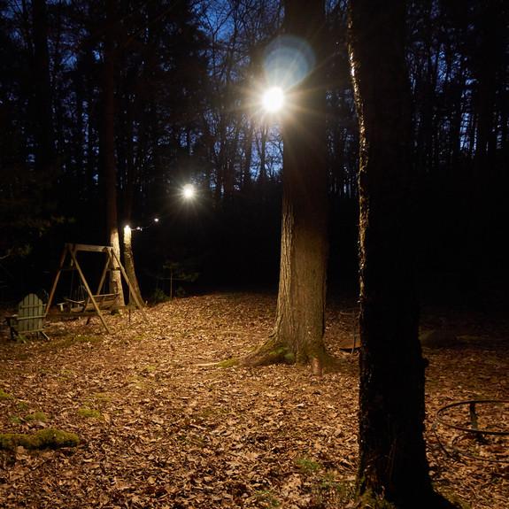"""Set of Five LED """"String Lamp"""" Work Lights"""