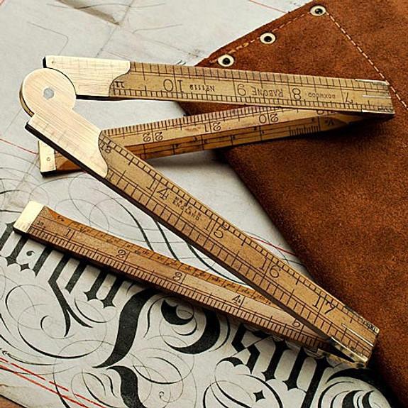 Antique Architect's Folding Rule