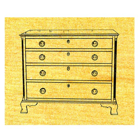 Chest of Drawers - Stock #11