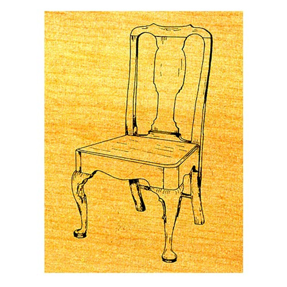 Queen Anne Side Chair - Stock #14