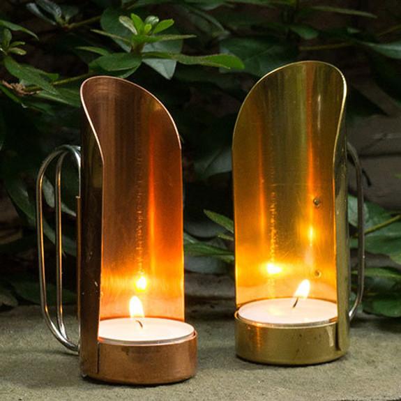 Brass & Copper Candleholders