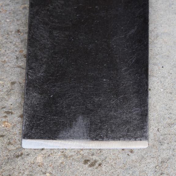 Sharp Spade blade detail