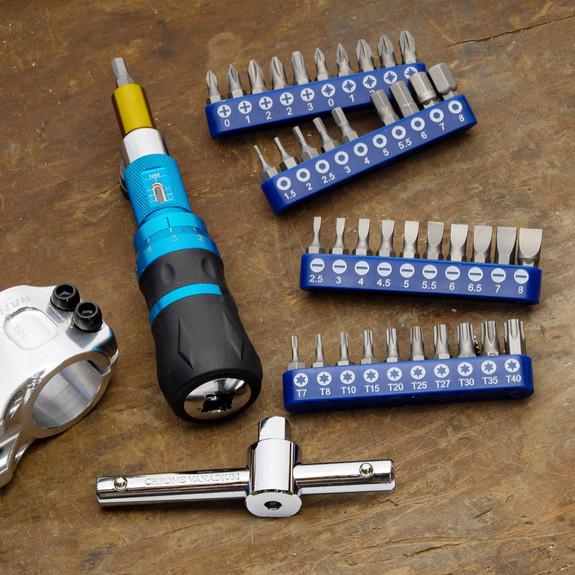 40-Bit Torque Screwdriver Set