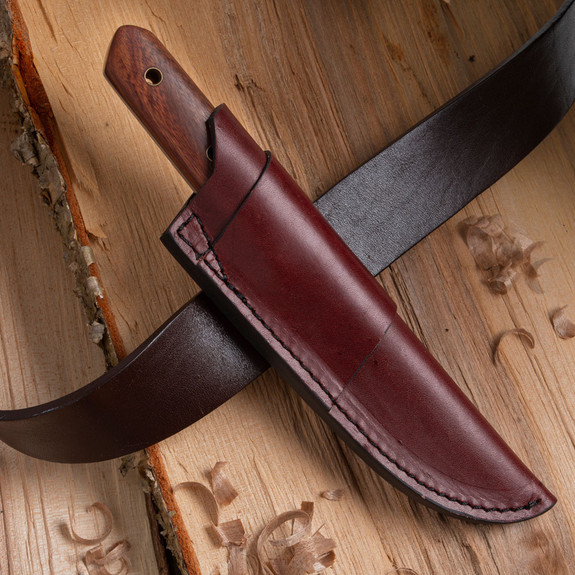 Fixed Blade Rosewood Knife