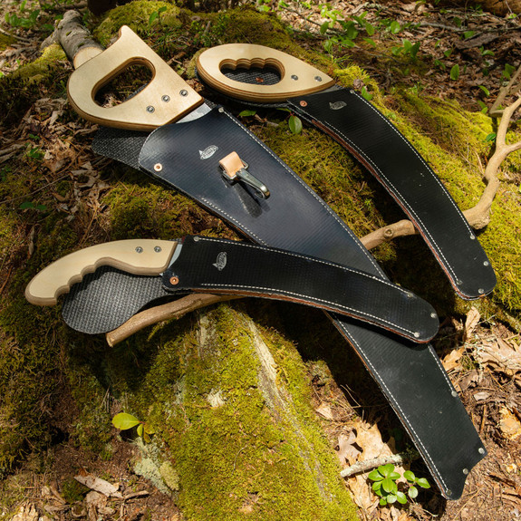 Rubberized Sheaths for our Pro. Pruning Saws