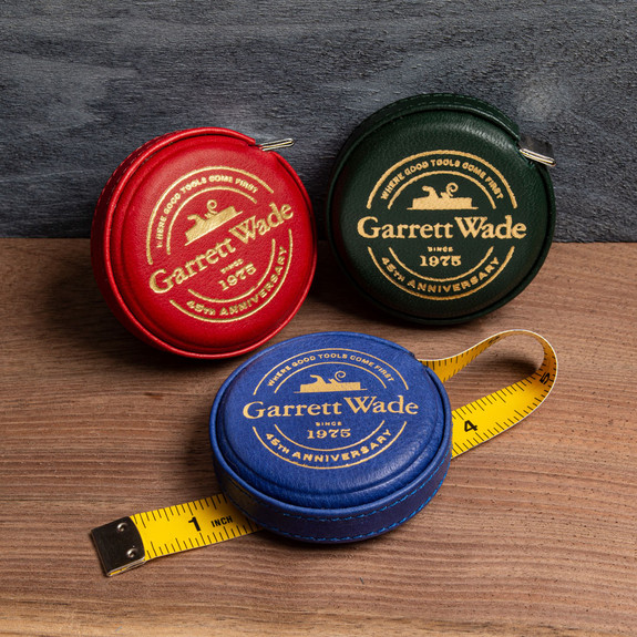 45th Anniversary Leather-Cased Tape Red