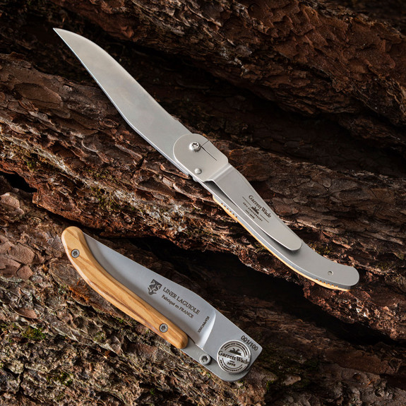 45th Anniversary French Liner-Lock Knife