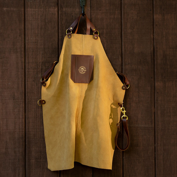 45th Anniversary Suede Apron