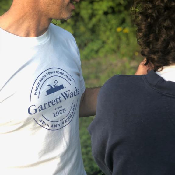 45th Anniversary T-Shirts - White