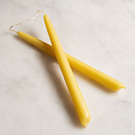 """Beautiful Hand-Dipped 11"""" Beeswax Candles"""