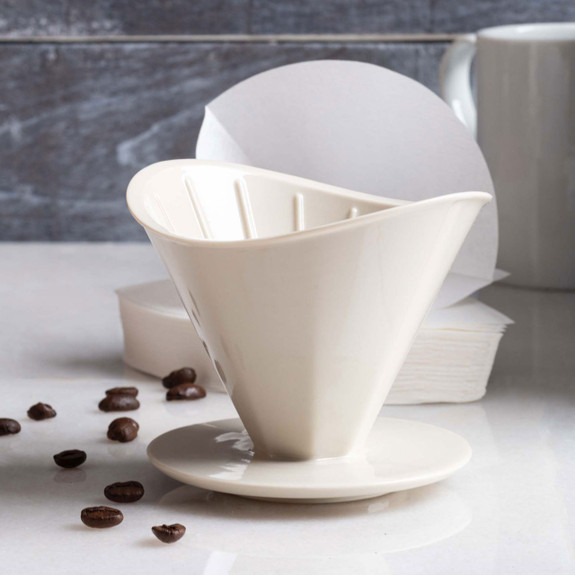 Ceramic Pour Over White