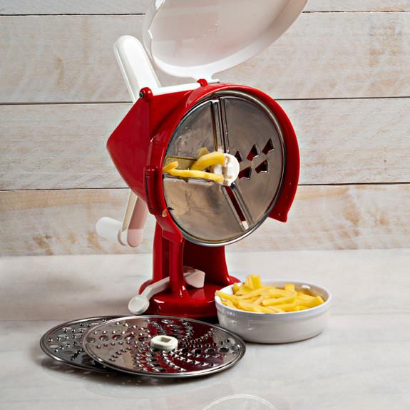 Hand-Crank Food Processor
