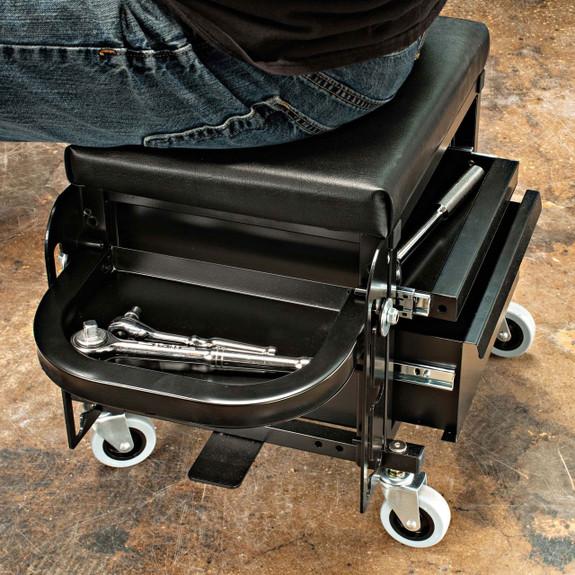 Heavy-Duty Toolbox Creeper Seat