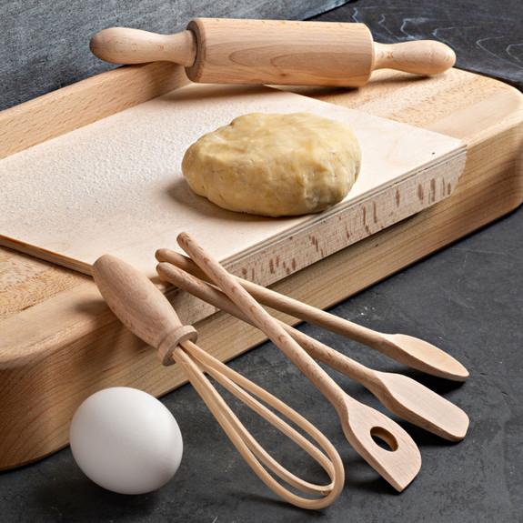 Kids' Wooden Pastry Set