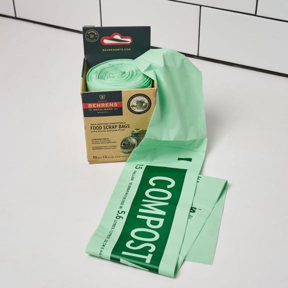 1.5 Gallon Standard Funnel Food Scrap Bags