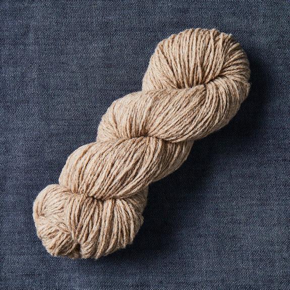Natural Sheep's Wool Yarn Oat
