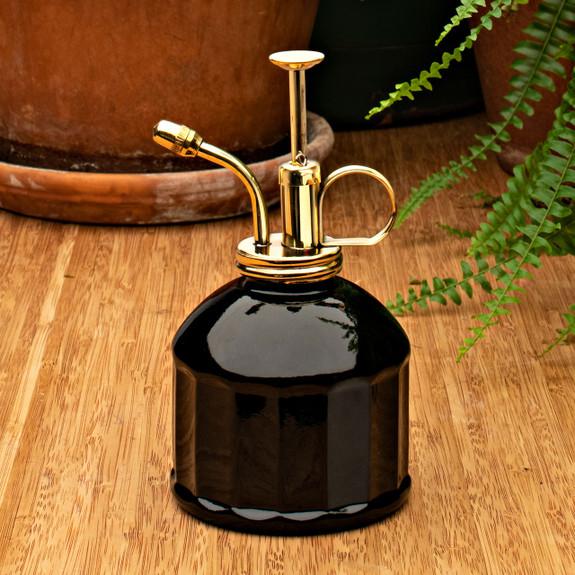 Brass & Glass Mister - Black