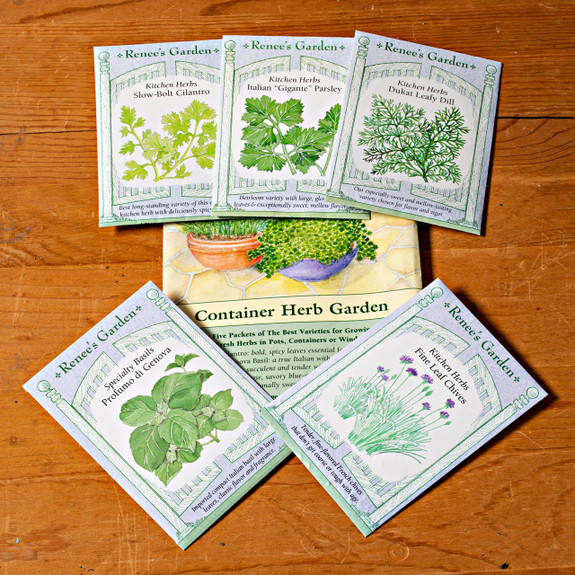 Easy Herb Garden (5 pkts in 1)