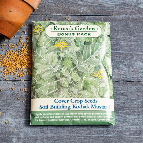 Soil Builder, Kodiak Mustard