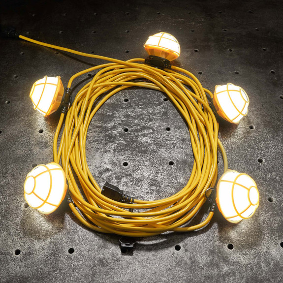5 LED String Lights 50 ft cable 50W