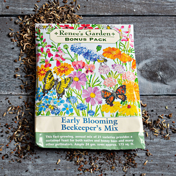 Early Blooming Beekeeper's Mix Seed Pack