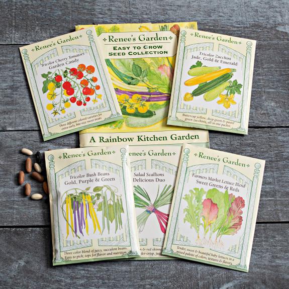 Rainbow Kitchen Vegetable Garden Seed Pack