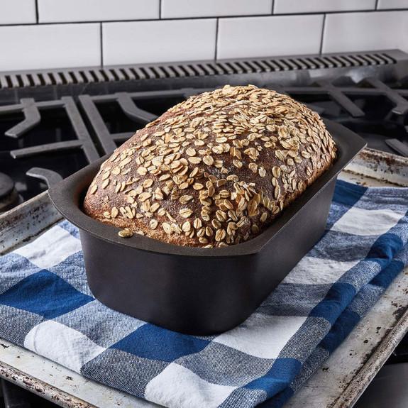 UK Made Black Spun Iron Loaf Pan