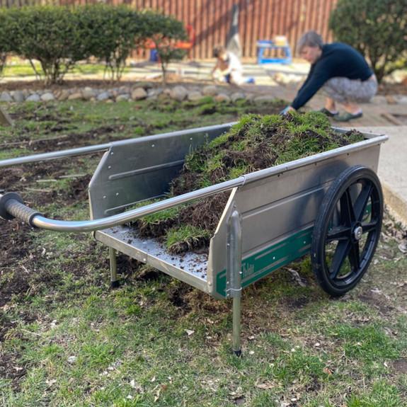 USA Made Foldable Sturdy Garden Cart