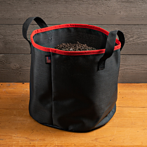 5G Black Bag With Red Trim