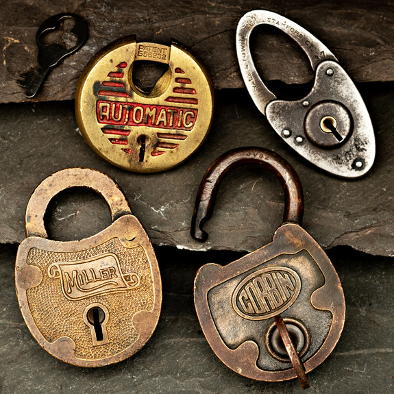 Beautiful Antique  Ward Locks