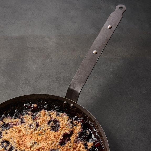 Spun Iron Classic Frying Pan