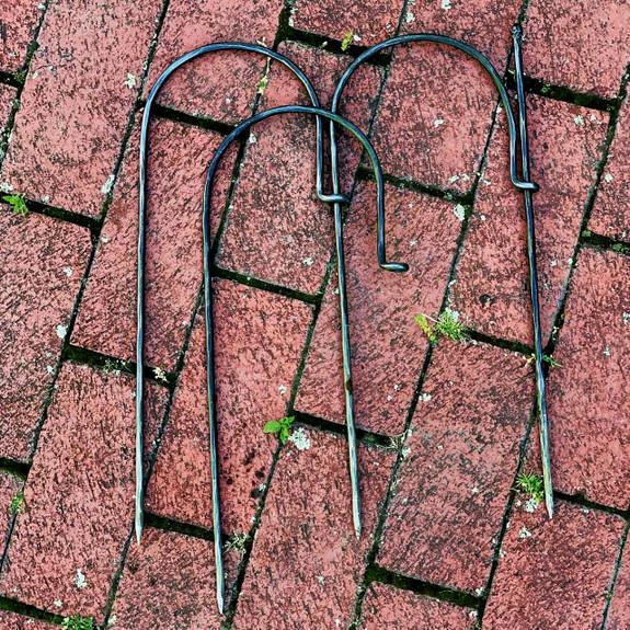 Garden Fence Set of 5 w/Rod