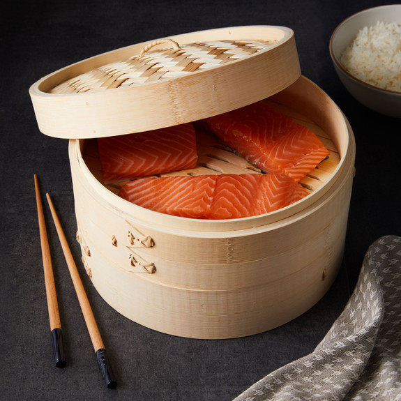 """10"""" Bamboo Steamers"""