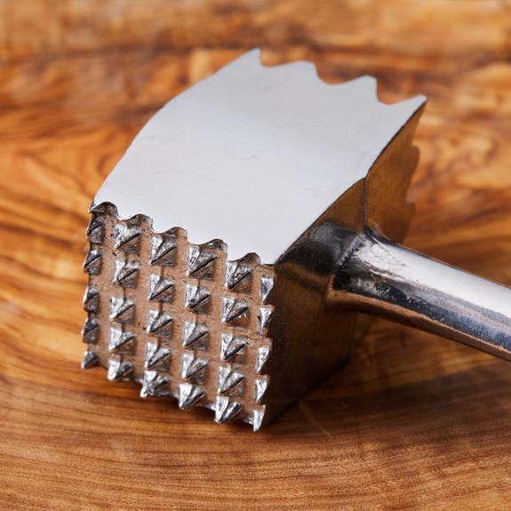 Solid Aluminum 2 Faced Tenderizing Mallet