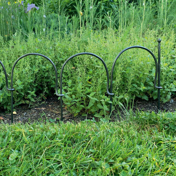Hand-Forged Garden Edging / Fence