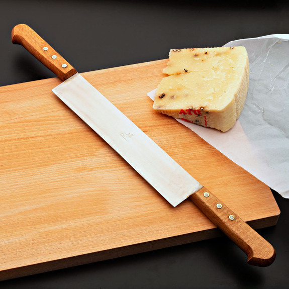 Historical 2 Handed Cheese Knife 23 cm
