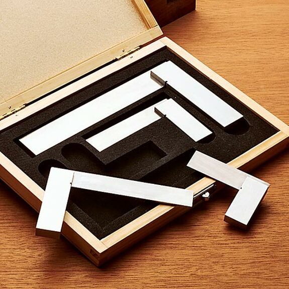 Set of Four Engineer's Squares