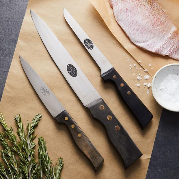 Vintage Butcher Knife Set of 3