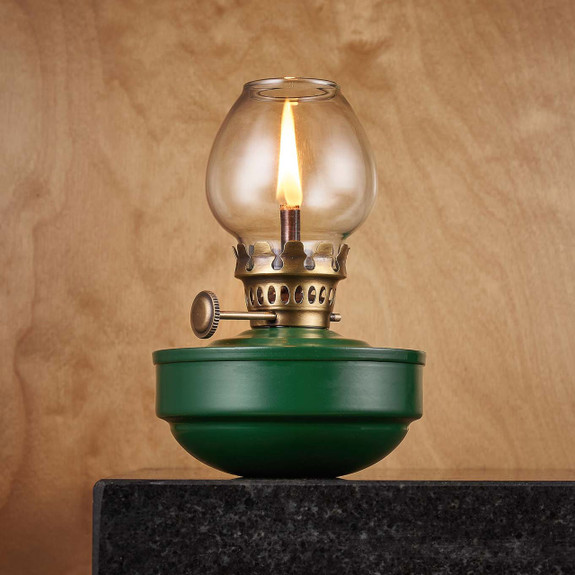 "'Green Lantern"" Naval Oil Lamp"
