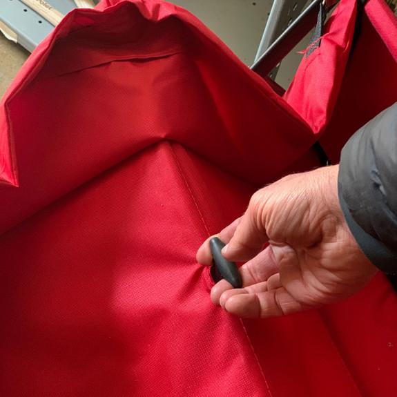Folding Nylon-Sided Wagon