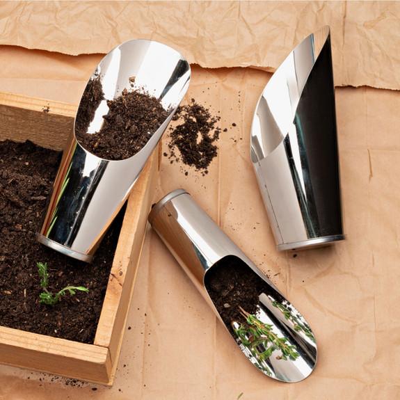 Set of Three Indoor Garden Scoops
