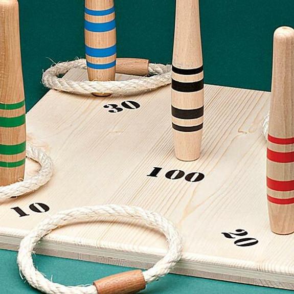 Ring Toss Game & Rings