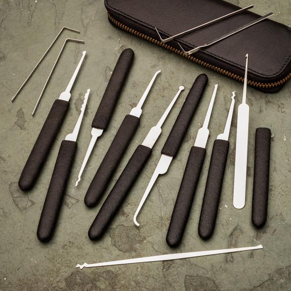 14 Piece Lockpick Set in Zippered Case
