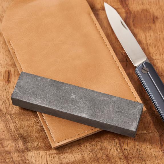 Pocket Stone Hard Black Arkansas