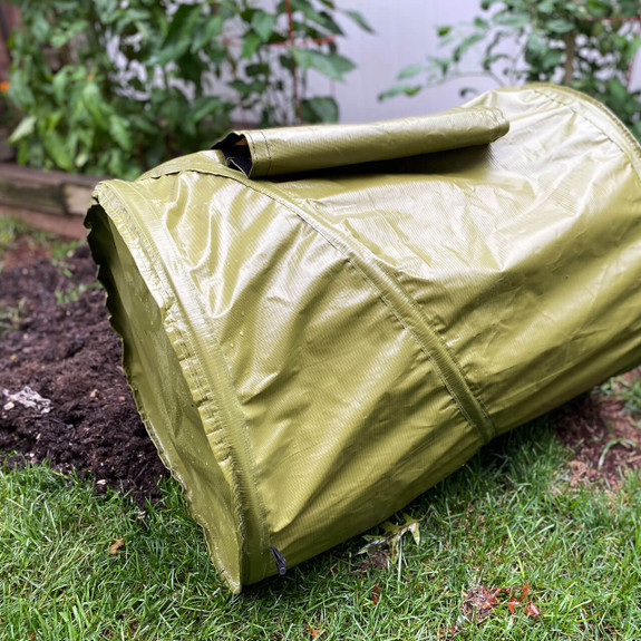 Roll-Around Backyard Composter