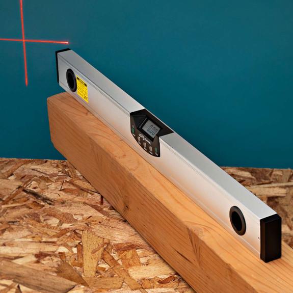 "CNC Machined 24"" Laser Level"
