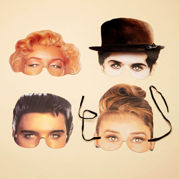 Fun Halloween or Party Celebrity Masks