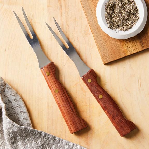 Historical Steak Fork Two-Piece Set